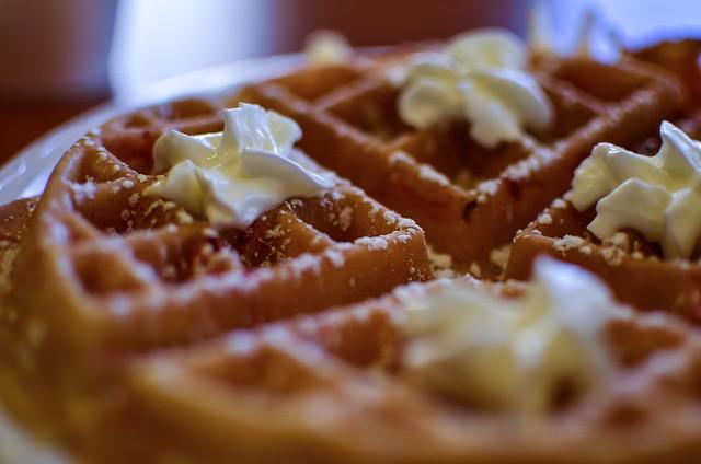 Marriott waffles @ Residence Inn Salisbury MD
