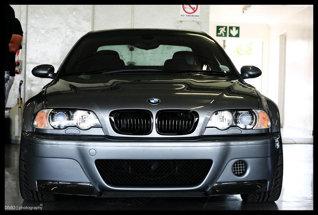 BMW e46 M3 CSL Front | Coupé Sport Leichtbau Kyalami Pits