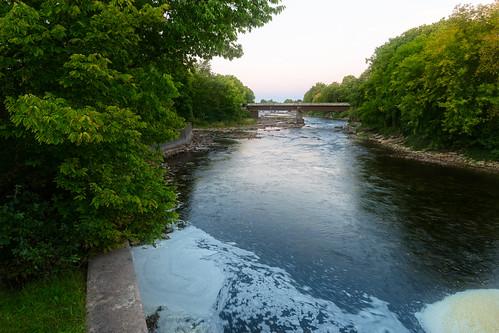 carletonplace gilliesbridge longexposure lttlebridge mississippiriver sunrise ontario canada ca