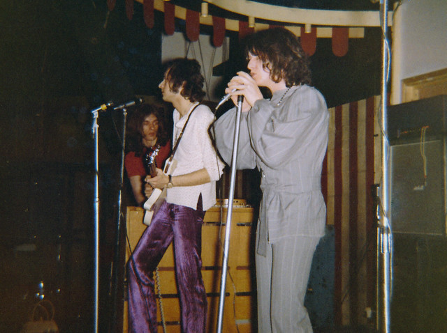 Yes at the Marquee club