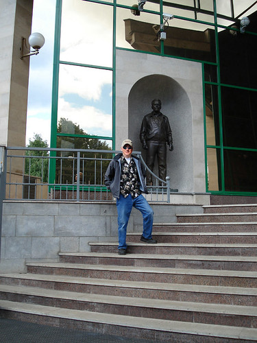 At The Kalashnikov Museum 2006-2