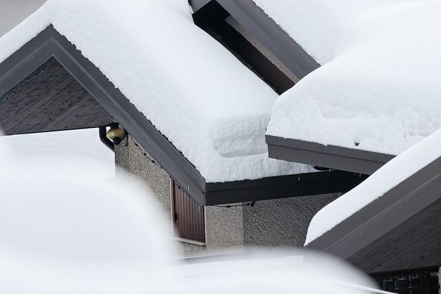 Zambla Alta - Neve sui tetti