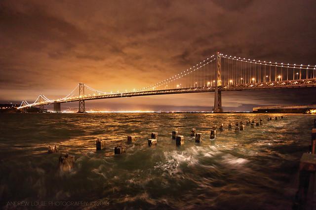 The Storm Awakes  **EXPLORE**  SF Bay Bridge Light Celebration