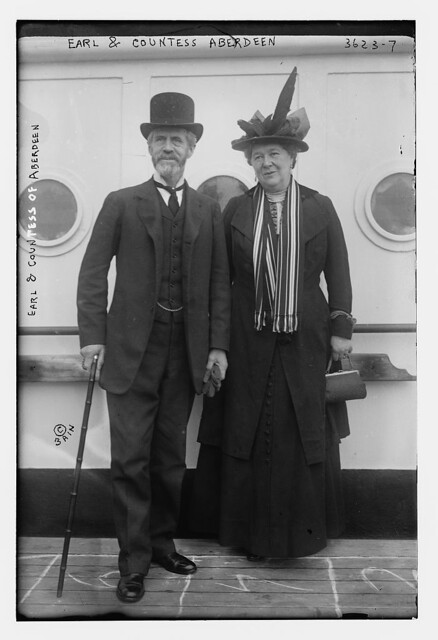 Earl and Countess Aberdeen  (LOC)