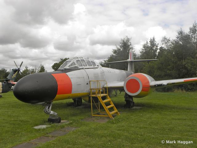 Gloster Meteor TT20 (WM224) at Donington AeroPark
