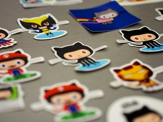 GitHub has the best stickers   by Paris B-A