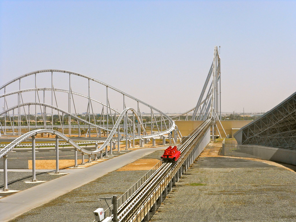 Formula Rossa Worlds Fastest Rollercoaster Ferrari World Flickr