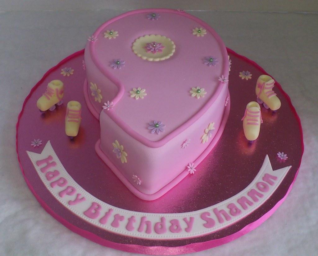 Fantastic Number 9 Birthday Cake Liz Flickr Personalised Birthday Cards Akebfashionlily Jamesorg