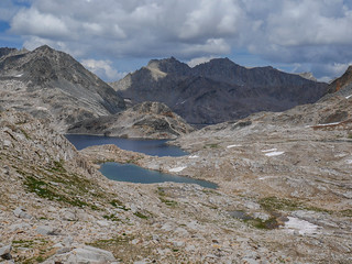 Helen Lake and tarns south of Muir Pass | by snackronym