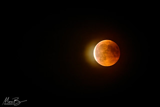 Lunar Eclipse 27-07-2018 / 02 | by Marc Bezembinder