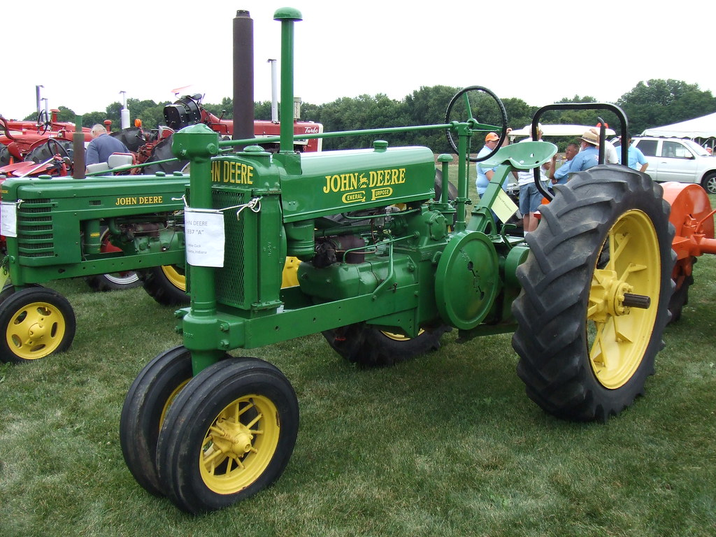 1937 John Deere General Purpose type A tractor