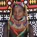 Mumuhuila tribe woman portrait, Huila Province, Chibia, Angola by Eric Lafforgue