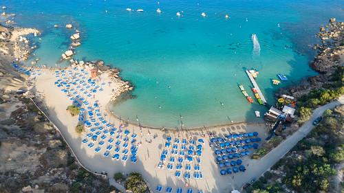 Konos Beach Cyprus | by dronepicr