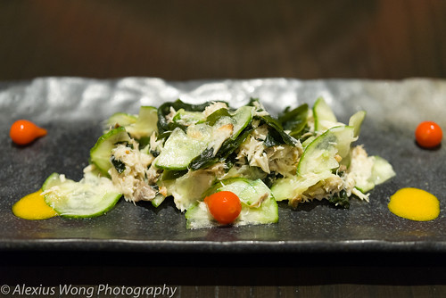 Cucumber and Smoked Mackerel Salad | by AK_Wong