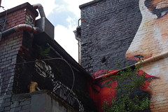 Graffiti at Naxoshalle Frankfurt