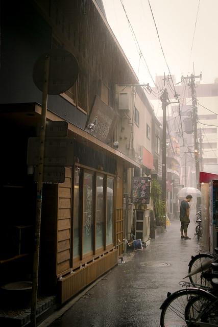 heavy rain this morning