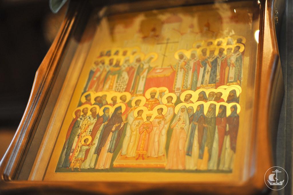 9 февраля 2013, Всенощное бдение накануне Недели 36-ой по Пятидесятнице и Собора новомучеников и исповедников Российских.