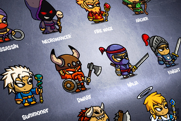 CHARACTERS - RPG BOX - Building RPG classes - view more ...