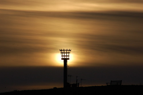 sunset silhouette beacon armadabeacon pakefield pakefieldbeacon