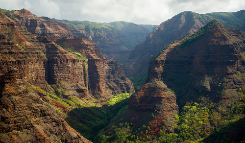 Waimea Canyon, Kauai by helicopter | by Morris Hersko