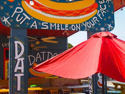 Dat Dog Freret Street. Photo by Melanie Merz.