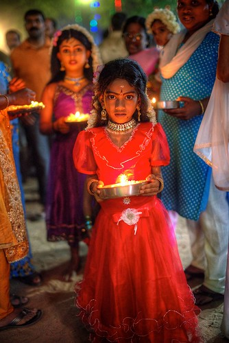 Chamayavilakku Festival, Kottankulangara, Chavara, Kollam, Kerala