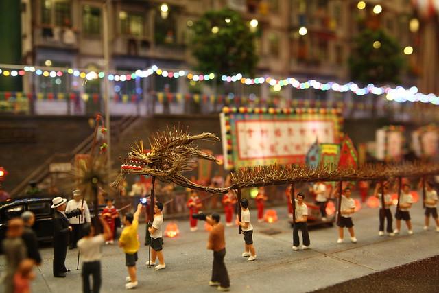 香港大坑舞火龍