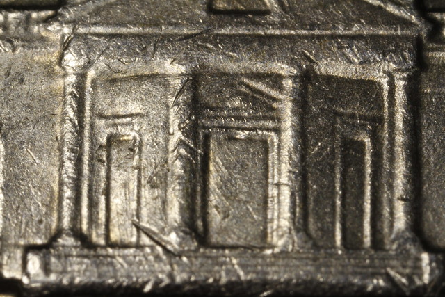 Back of a nickel
