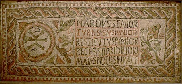 Mosaïque funéraire de Nardus, Turassus et Restitutus