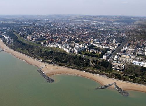 Folkestone Aerial   by John D Fielding