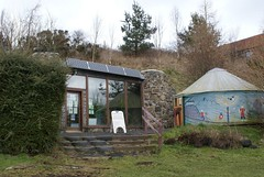 Earthship Fife Visitor Centre and Storytelling Yurt