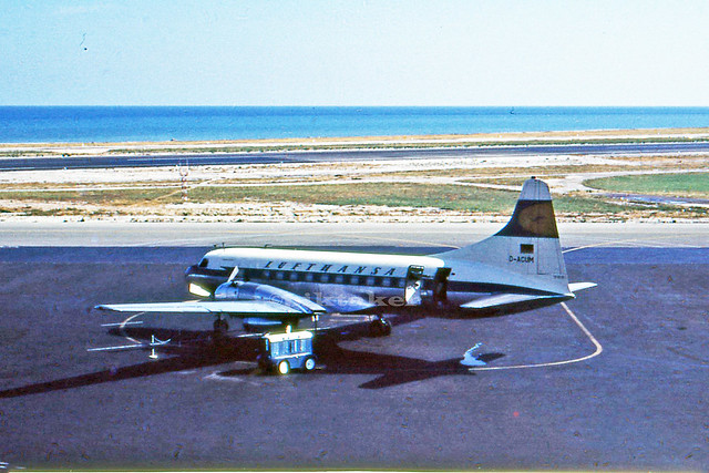 Metropolitan at Nice Airport, Cote d` Azur August 1959