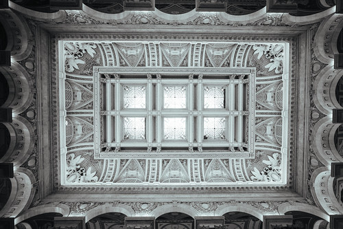Ceiling, Library of Congress. | by Matt Benton