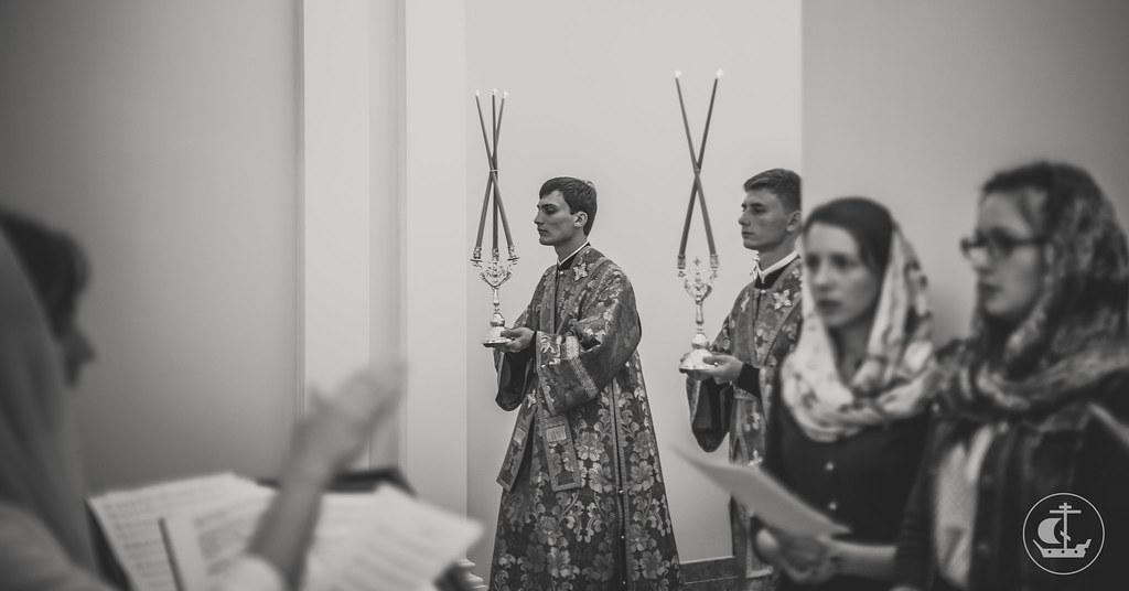 27 августа 2016, Всенощное накануне Успения Пресвятой Богородицы / 27 August 2016, The Vigil on the eve of the Dormition of the Theotokos