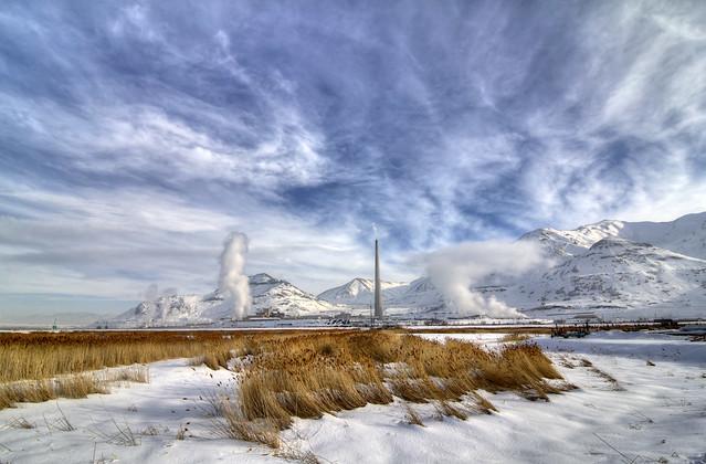 Kennecott Smokestack, Salt Lake Co, UT