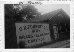 01. Foundry at 17th and Hull Street about time demolished after construction of new foundry at 1005 Commerce.  Around 1947.