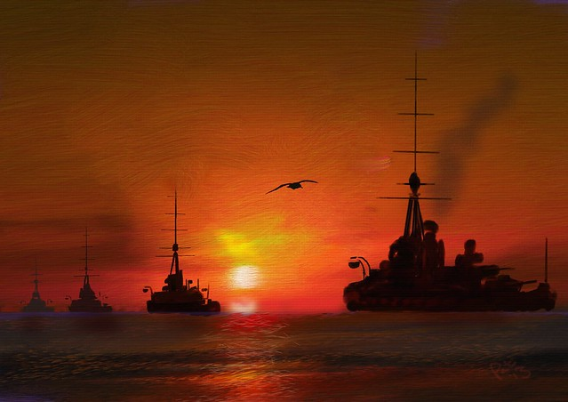 The Second Battle Squadron