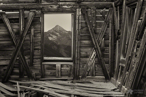 morning autumn sky fall window nature sunrise landscape cabin colorado seasons peak mining wilson ghosttown telluride alta fourteener sanjuans allrightsreserved pictureframe wilsonpeak coloradocaptures copyright2012bymikeberenson oldschoolwilsonpictureframe
