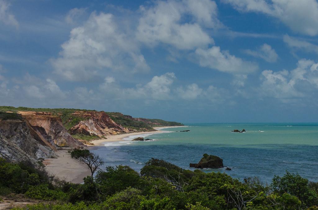 Tambaba Beach, Conde PB Brazil Stock Photo - Image of