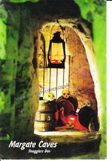Postcard - Smugglers Den
