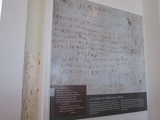 Curse on Jefferson Davis, left by Union POW: Old Courthouse, Winchester, VA | by Msanders55