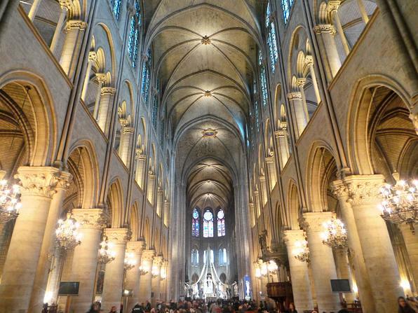 Notre Dame Cathedral, Paris, France (2)