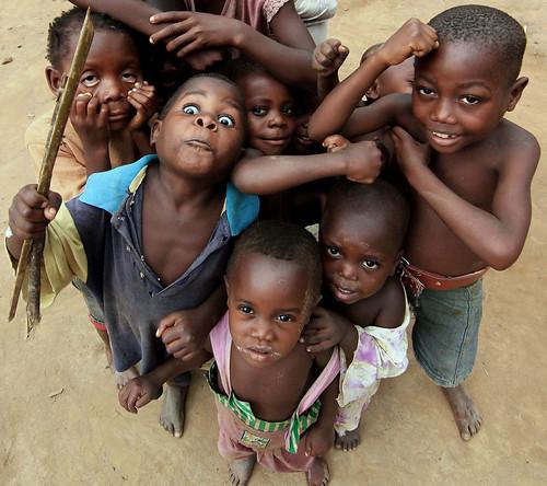 Pygmy Children, Uganda - YouTube