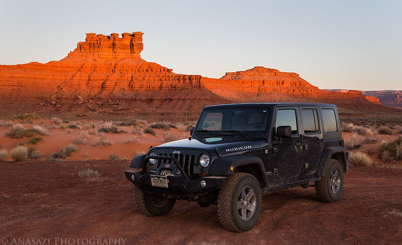 Morning Jeep
