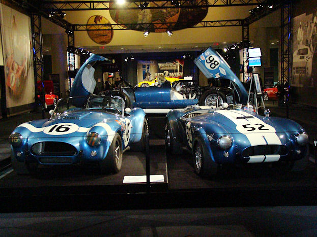 Shelby Display Cars
