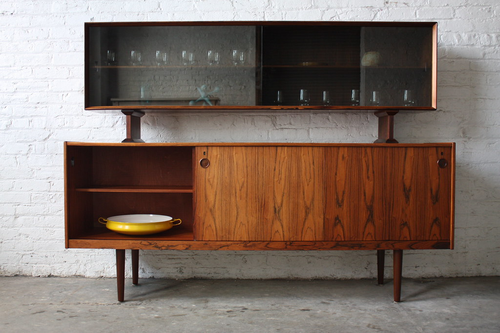 Danish Floating Credenza : Undeniable dyrlund roswood danish mid century modern credeu flickr
