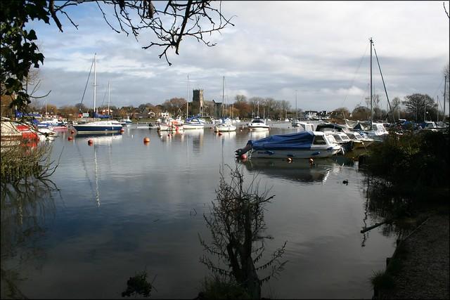 The River Stour, Christchurch