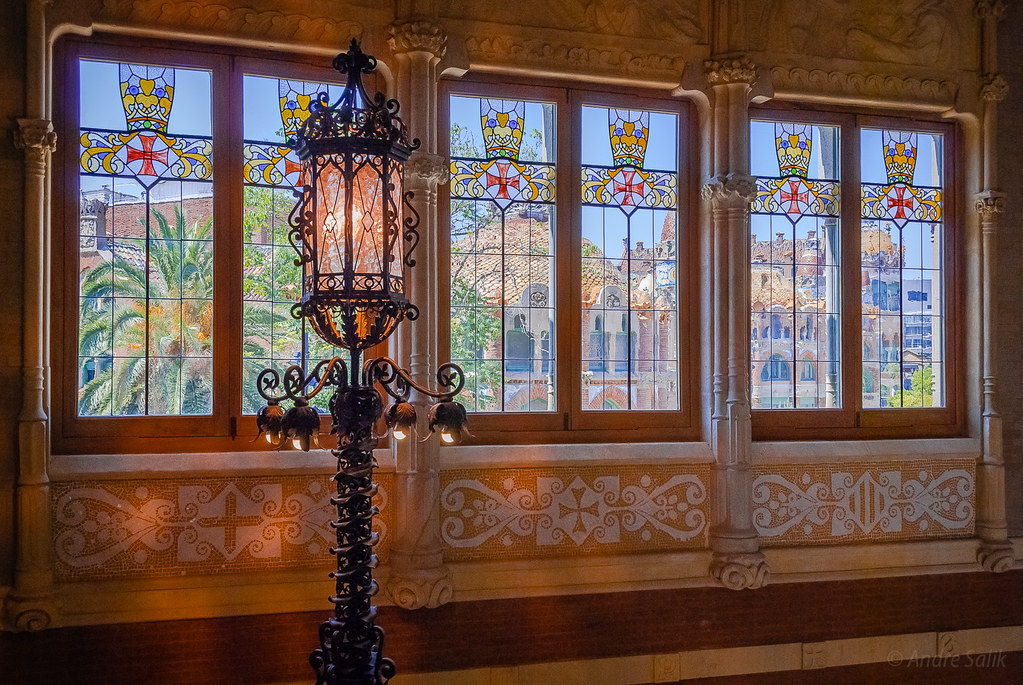 Beautiful glass work.