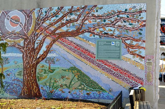 Mosaic Mural in Manayunk