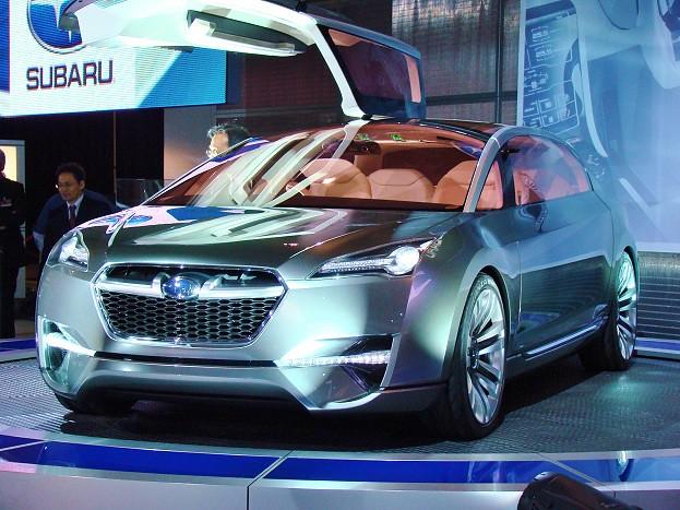 Chris Nagy 2011 Canadian International Auto Show 850 Subaru tourer concept